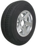 "Karrier ST225/75R15 Radial Trailer Tire with 15"" Aluminum Wheel - 6 on 5-1/2 - Load Range D"