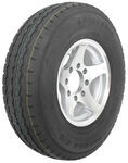"Karrier ST235/85R16 Radial Trailer Tire with 16"" Aluminum Wheel - 8 on 6-1/2 - Load Range E"