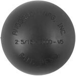 "Replacement Nylon Cap for Greaseless HardBall Hitch Ball with 2-5/16"" Diameter"