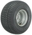 "Kenda 215/60-8 Bias Trailer Tire with 8"" Galvanized Wheel - 4 on 4 - Load Range C"