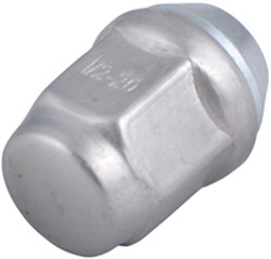 "Americana Trailer Wheel Lug Nut - 13/16"" Diameter - Stainless Steel - 1/2"" - 20"