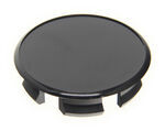 Trailer Wheel Center Cap Plug - Black