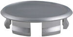 Trailer Wheel Center Cap Plug - Chrome