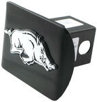 "Arkansas Chrome Mascot Emblem 2"" Hitch Cover"