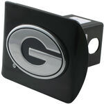 "Georgia Chrome Logo Emblem 2"" Hitch Cover"
