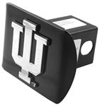 "Indiana University Chrome Logo Emblem 2"" Hitch Cover"