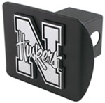 "Nebraska Chrome Logo Emblem 2"" Hitch Cover"