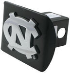 "North Carolina Chrome Logo Emblem 2"" Hitch Cover"