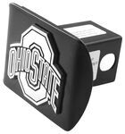 "Ohio State University Chrome Logo Emblem 2"" Hitch Cover"