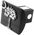 "South Carolina State Palmetto Chrome Emblem 2"" Hitch Cover"