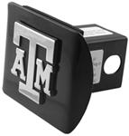"Texas A&M University Chrome Logo Emblem 2"" Hitch Cover"