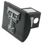 "Texas Tech University Chrome Logo Emblem 2"" Hitch Cover"