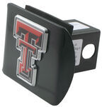 "Texas Tech University Color Logo Emblem 2"" Hitch Cover"