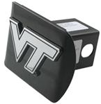 "Virginia Tech University Chrome Logo Emblem 2"" Hitch Cover"