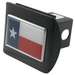 "Texas State Flag Color Emblem 2"" Hitch Cover"