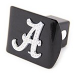 "Alabama Crimson Tide Crystal Emblem 2"" Trailer Hitch Receiver Cover"