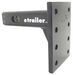 "Convert-A-Ball Cushioned, Adjustable Pintle Mounting Bar for 2"" Hitches - 8 Holes - 10,000 lbs"