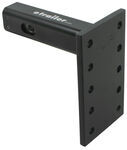 "Convert-A-Ball Cushioned, Adjustable Pintle Mounting Bar for 2"" Hitches - 10 Holes - 10,000 lbs"
