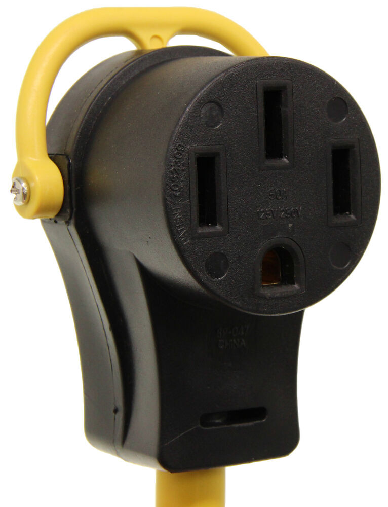 Arcon Rv Power Cord Adapter W   Folding Handles - 110v