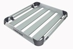 "Rhino-Rack Alloy Tray Roof Cargo Carrier - 4 Planks - 47"" Long x 40"" Wide"