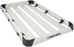"Rhino-Rack Alloy Tray Roof Cargo Carrier - 4 Planks - 71"" Long x 40"" Wide"