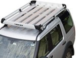"Rhino-Rack Alloy Tray Cargo Carrier for HD Crossbars - 5 Planks - 79"" Long x 49"" Wide"