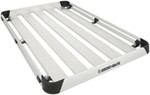 "Rhino-Rack Alloy Tray Cargo Carrier for Aero Crossbars - 5 Planks - 79"" Long x 49"" Wide"