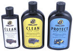 Bestop Fabric Cleaner, Protectant and Vinyl Window Cleaner - 3-Pack