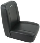 Bestop TrailMax II Classic - Vinyl Front Seat - Low Back - Black