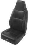 Bestop TrailMax II Fixed High Back - Vinyl Front Seat - Black