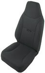 Bestop TrailMax II Fixed High Back - Vinyl Front Seat - Black Denim