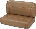 Bestop TrailMax II Fixed - Vinyl Rear Bench Seat - Spice
