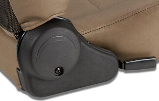 reclining seat lever