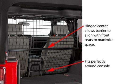 Car Dog Barrier: Bestop Custom Pet Barrier For Jeep