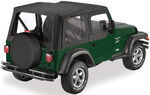 Bestop Replace-A-Top for Jeep - Black Diamond - Half Door Skins
