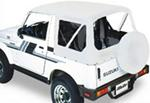 Bestop Replace-A-Top for Suzuki Samurai - White Denim