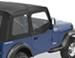 Bestop Soft Upper Doors for Jeep Wrangler 1988-1995 - Black Denim