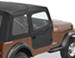 Bestop 2-Piece Soft Doors for Jeep CJ-7, Wrangler 1980-1995 - Black Denim