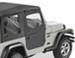 Bestop 2-Piece Soft Doors for Jeep Wrangler 1997-2006 - Black Denim