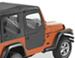 Bestop 2-Piece Soft Doors for Jeep Wrangler 1997-2006 - Black Diamond
