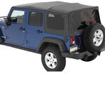 Bestop Supertop NX Soft Top for Jeep - Sunroof and Tinted Windows - Khaki Diamond