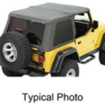Bestop Trektop NX Soft Top for Jeep - Sunroof and Tinted Windows - Spice