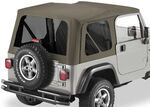 Tinted Window Kit for Bestop Replace-A-Top for 2003-2006 Jeep - Khaki Diamond