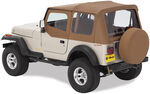 Bestop Sailcloth Replace-A-Top for Jeep - Spice - Half Door Skins