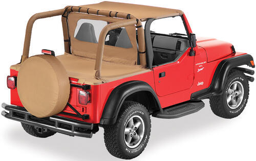 2002 TJ by Jeep Jeep Bar Covers Bestop B8002037