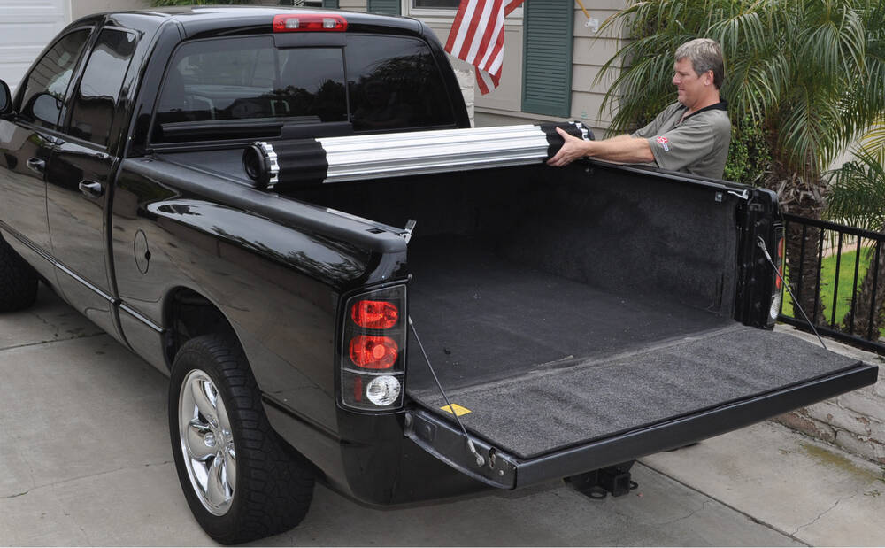 Locking Truck Bed Covers >> BAK Roll-X Hard Tonneau Cover - Roll Up - Aluminum and ...