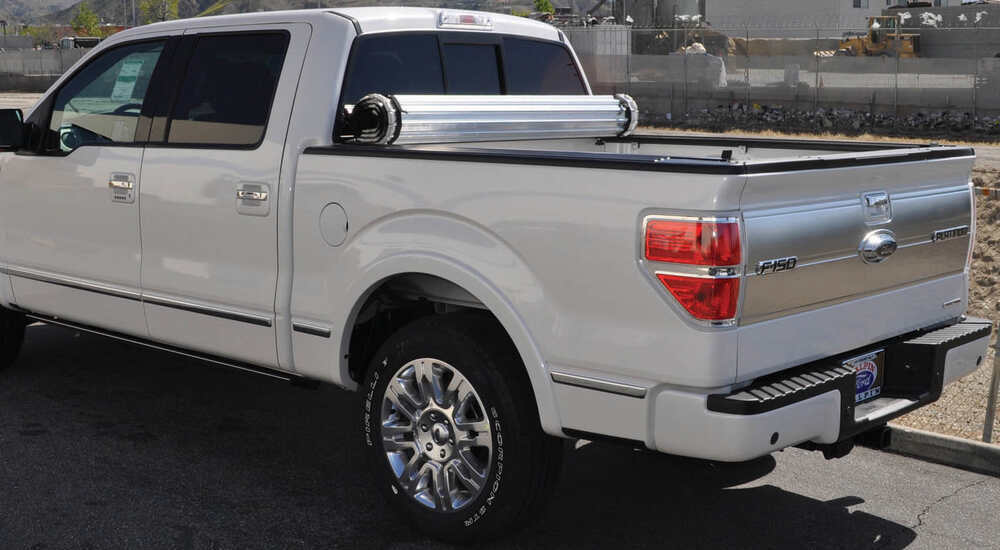 Bak Roll X Hard Tonneau Cover Roll Up Aluminum And Vinyl