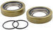 Spindle Grease Seal Set for L44643 Inner Bearing and 1.980 Bearing Buddy