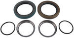 Spindle Grease Seal Set for 25580 Inner Bearing and 2.441 Bearing Buddy