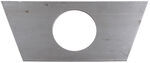 "Bulldog Jack Support Plate - A-Frame - 2-1/3"" Diameter Hole"